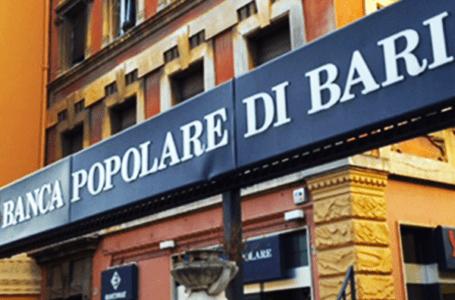 Banca Popolare di Bari commissariata da Bankitalia per gravi perdite