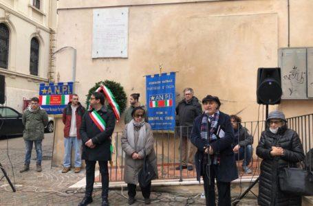 L'ANPI di Teramo celebra i tre Partigiani fucilati a Cartecchio nel 1944