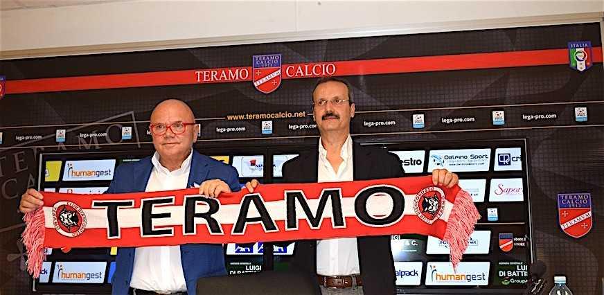 Calcio C, il Teramo dice addio ad Emilio Capaldi e dà il benvenuto a Massimo Spinozzi