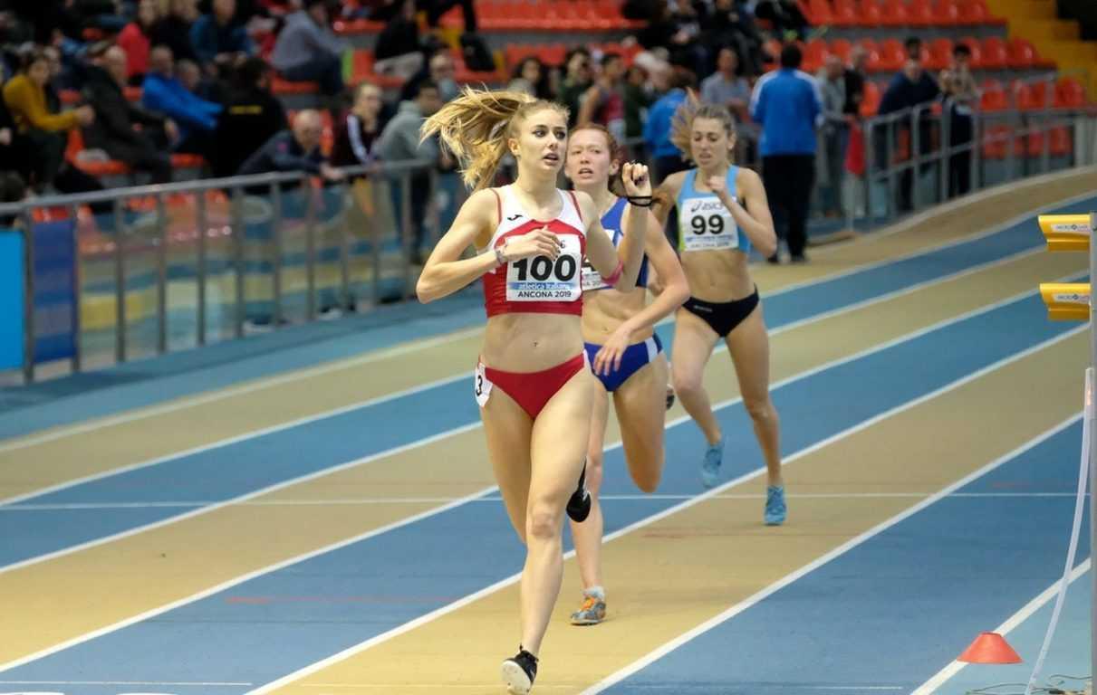 Tre medaglie ai Campionati Italiani U.20 e U.23: Ludovica Montanaro oro nel peso e argento nel disco e Gaia Sabbatini argento sugli 800