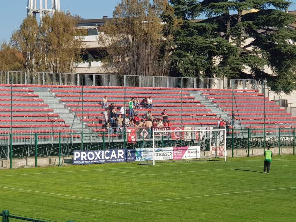Calcio C, terza vittoria esterna consecutiva per il Teramo (1-2): battuta la Giana