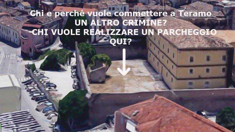 """VIDEO    Un parcheggio nell'area dell'Archivio di Stato? Elso Serpentini: """"Sciagurati, vi maledirei!"""""""