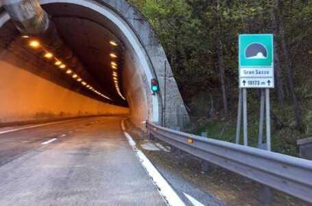 A24: annullate le chiusure notturne Traforo del Gran Sasso in direzione Roma