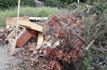 Emergenza rifiuti, ancora una discarica abusiva sul territorio di Roseto
