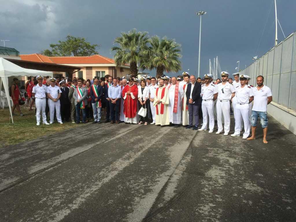 Il Vescovo di Teramo incontra gli equipaggi della Guardia Costiera e gli operatori del salvamento