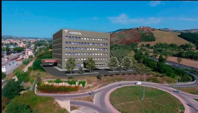 Ospedale nuovo Piano D'Accio