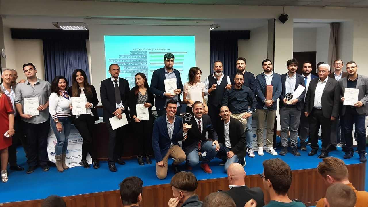 """FOTO     Premio """"Cambiamenti"""" della CNA Abruzzo, il teatino Luca Amicone si aggiudica la finale regionale"""