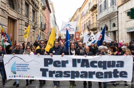 Gran Sasso, a due anni dalla Manifestazione per l'Acqua Trasparente  che cosa è cambiato?