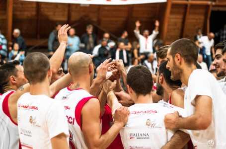 C Silver, la Tasp vince 64-61 contro Pescara Basket