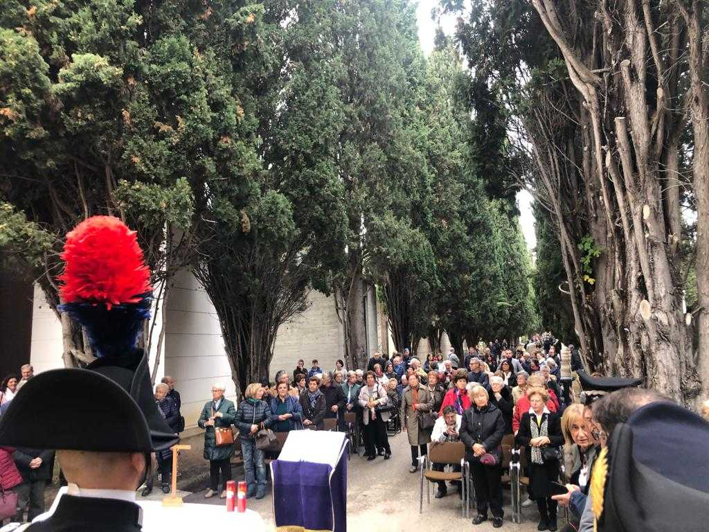FOTO | Teramo, cerimonia di Commemorazione dei Caduti in Guerra a Cartecchio