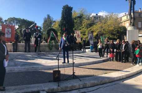 VIDEO | Giornata Forze Armate, il discorso del Sindaco D'Alberto: un pensiero agli sfollati