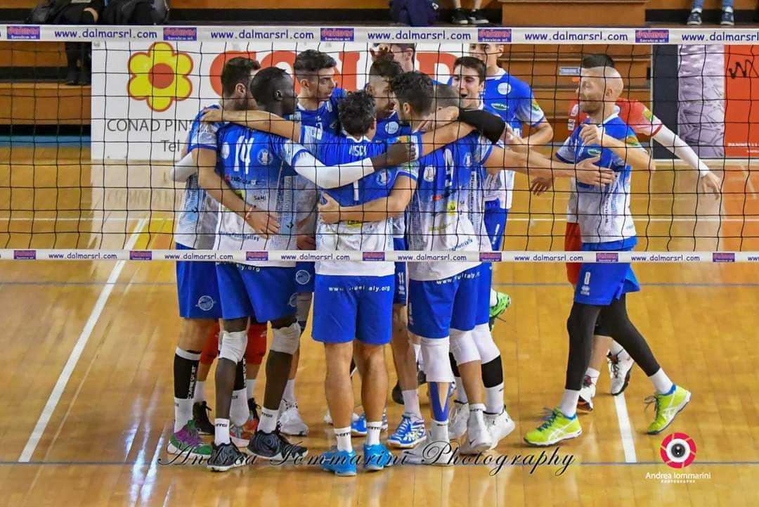 Volley, la Blueitaly Pineto corsara a Gioia Del Colle (0-3)