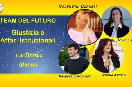 """Pescara, Valentina Corneli presenta il """"Team del Futuro"""" e il progetto M5S per l'area Giustica e Affari Istituzionali"""