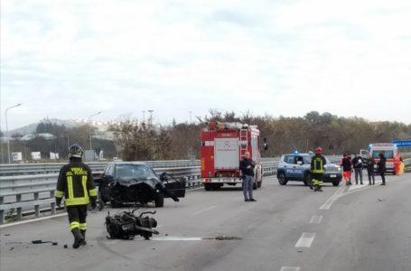 Incidente stradale sulla Teramo-Mare, gravissimo un 43enne
