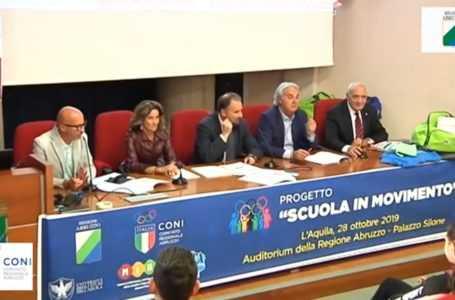 """Coni Abruzzo: ripartono """"Sport di classe"""" e """"Scuola in movimento"""""""