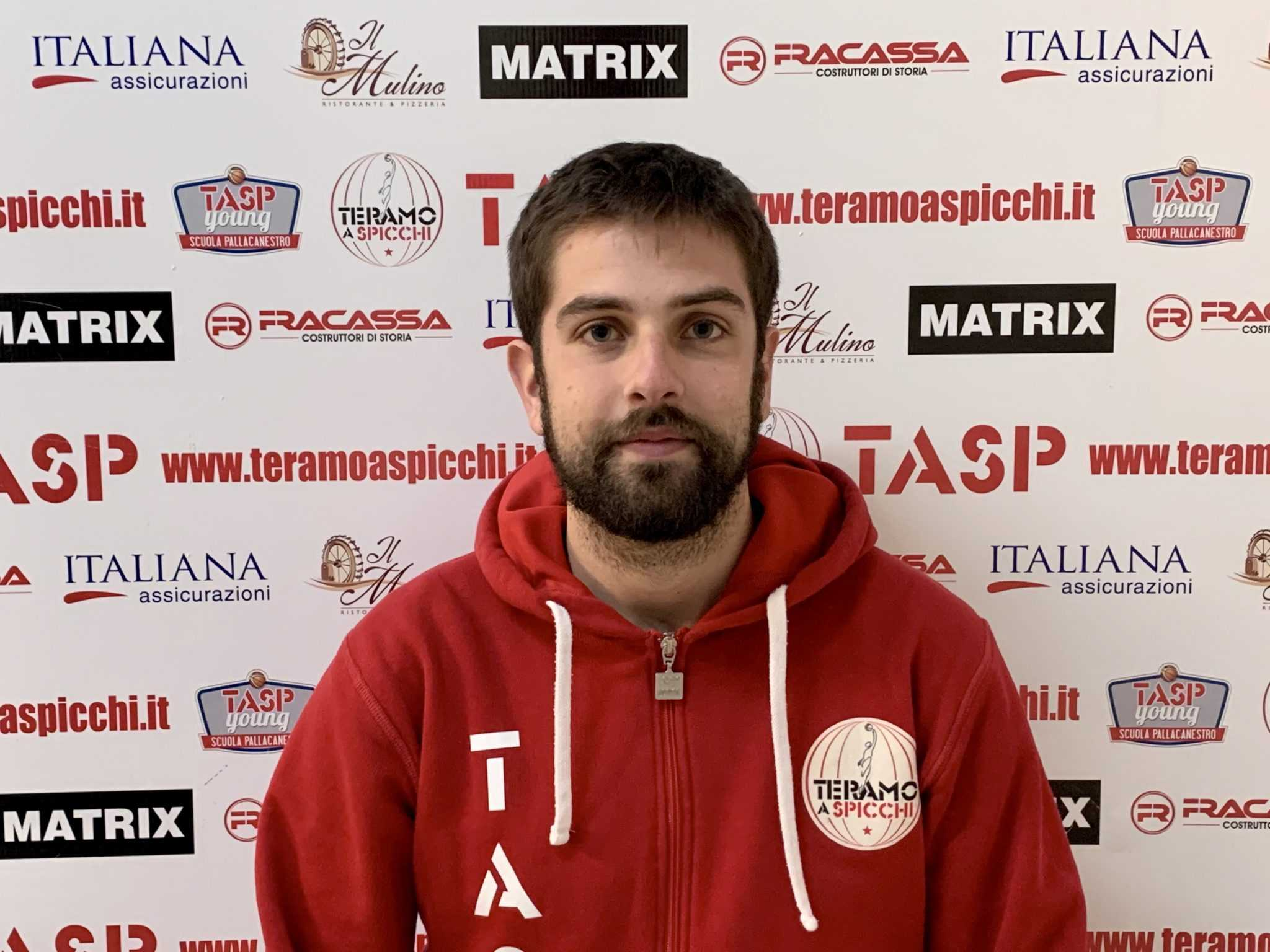 Scuola Pallacanestro TaSp Young, grande ritorno di Matteo Gioia  alla guida degli Under 18 Gold