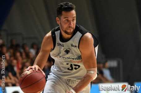 Basket A2, Roseto annuncia l'ingaggio dello sloveno Mitja Nikolic