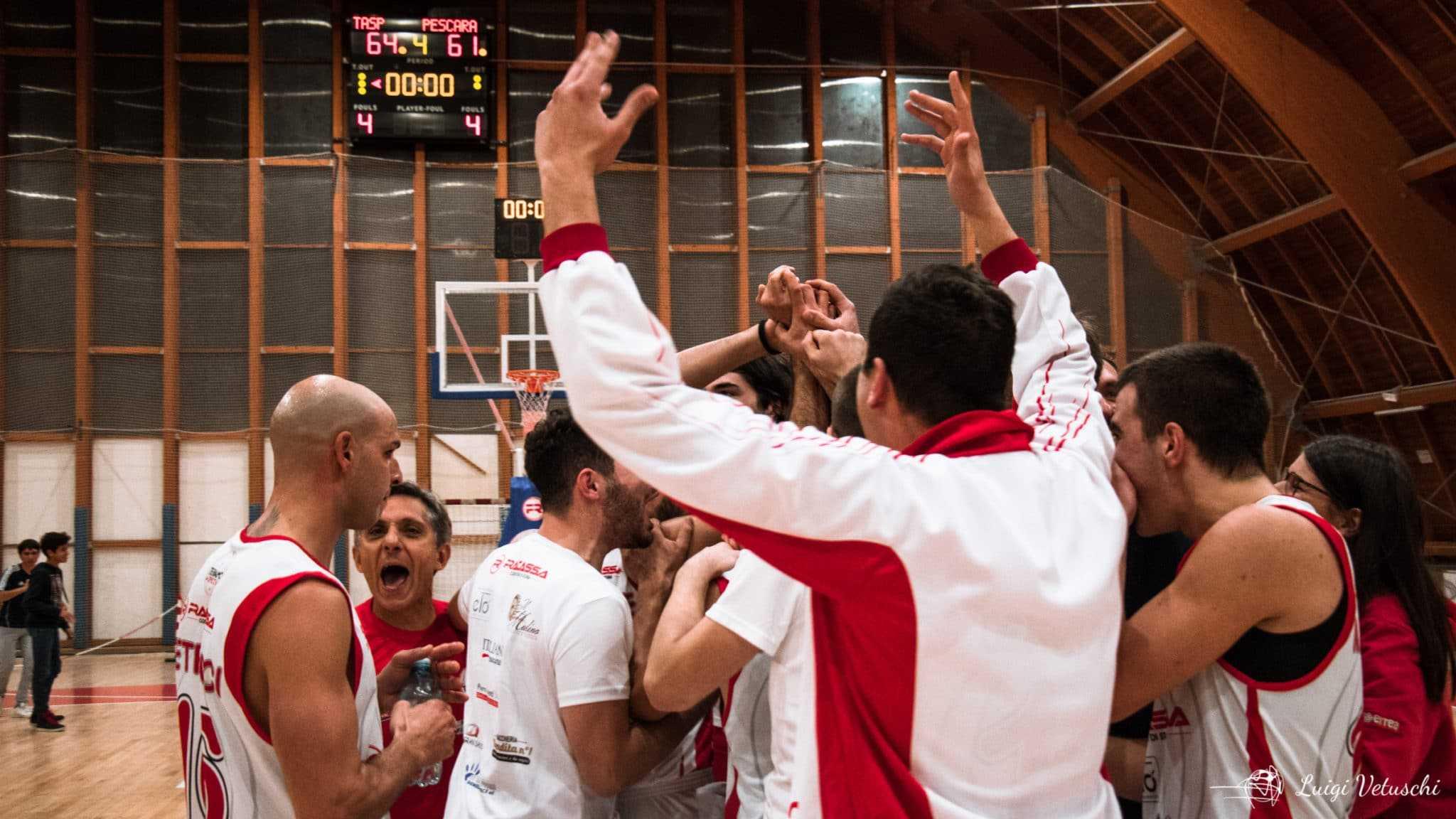 C Silver, la Teramo a Spicchi cala il tris contro il Basket Silvi (72-56) e consolida il secondo posto