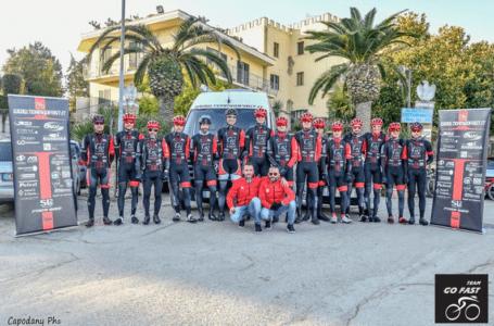 Team Go Fast, il 2020 si è aperto con il primo raduno collegiale a Cologna Spiaggia | FOTO e VIDEO