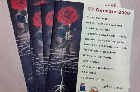 Tortoreto, Giornata della Memoria: Comune dona poesia di Anna Frank agli studenti dell'Istituto Comprensivo