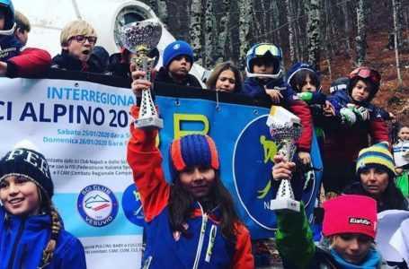 Sci, campionati interregionali giovanili a Roccaraso: buoni i piazzamenti degli atleti abruzzesi | FOTO