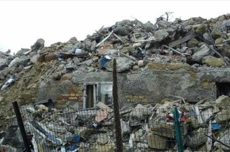 Terremoto, prorogati al 2020 i termini di scadenza dei siti di deposito delle macerie