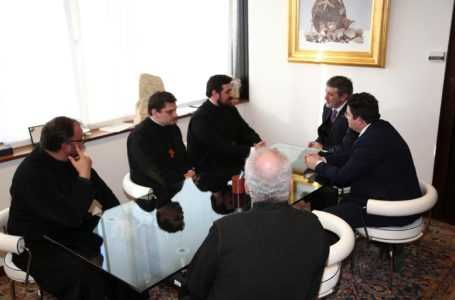 FOTO   Marsilio incontra religiosi Chiesa Ortodossa: in Abruzzo presenti 22.000 fedeli