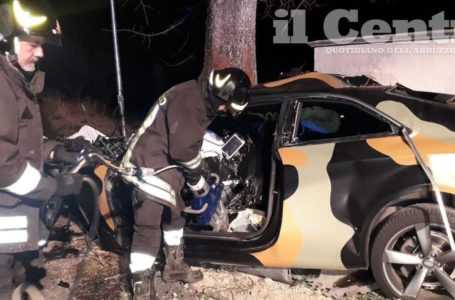 Incidente stradale con quattro morti nel pescarese