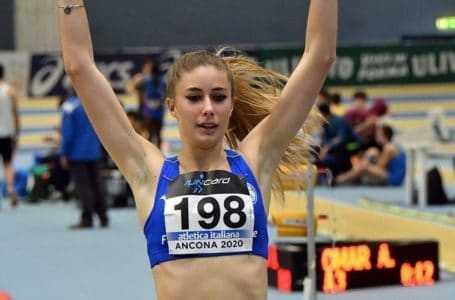 Atletica, Gaia Sabbatini non si ferma: bis negli 800 metri indoor con il titolo italiano