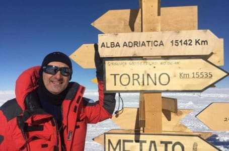 Alba Adriatica finisce in Antartide
