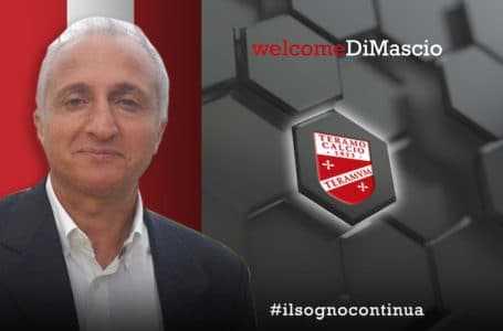 Calcio C, sarà Cetteo Di Mascio a sostituire Tedino: faccia bene per una tifoseria da applausi a scena aperta!