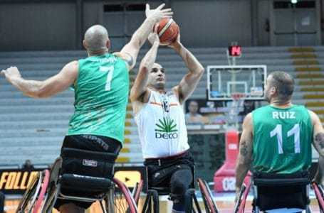 Basket in carrozzina, la capolista Santo Stefano ha la meglio sull'Amicacci (81-66)