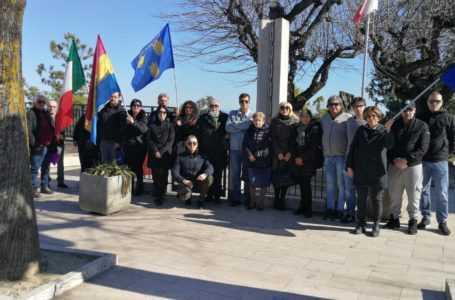 Bellante, cerimonia in memoria delle vittime delle foibe