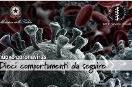 Coronavirus, le dieci regole per la prevenzione