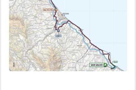 Giro d'Italia, a Giulianova il traguardo volante della decima tappa San Salvo-Tortoreto
