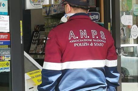 FOTO | Gruppo Volontari Nazionale Associazione Polizia di Stato: restate a casa, noi ci siamo per voi!