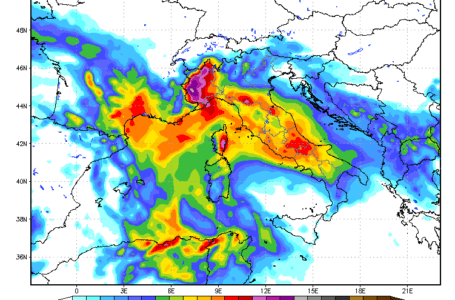 Previsioni Meteo: ci aspettano 4 giorni di pioggia