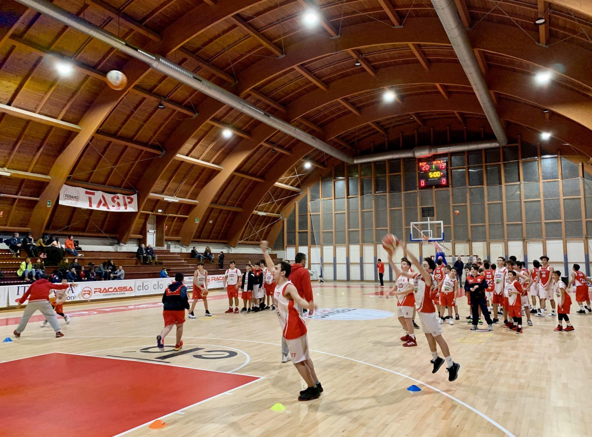 Teramo a Spicchi, riprendono le attività gli atleti della Scuola Pallacanestro TaSp Young