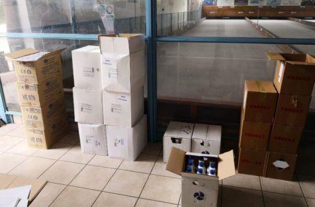 Bocce: la Regione Abruzzo dona DPI per l'Emergenza Epidemiologica Covid-19