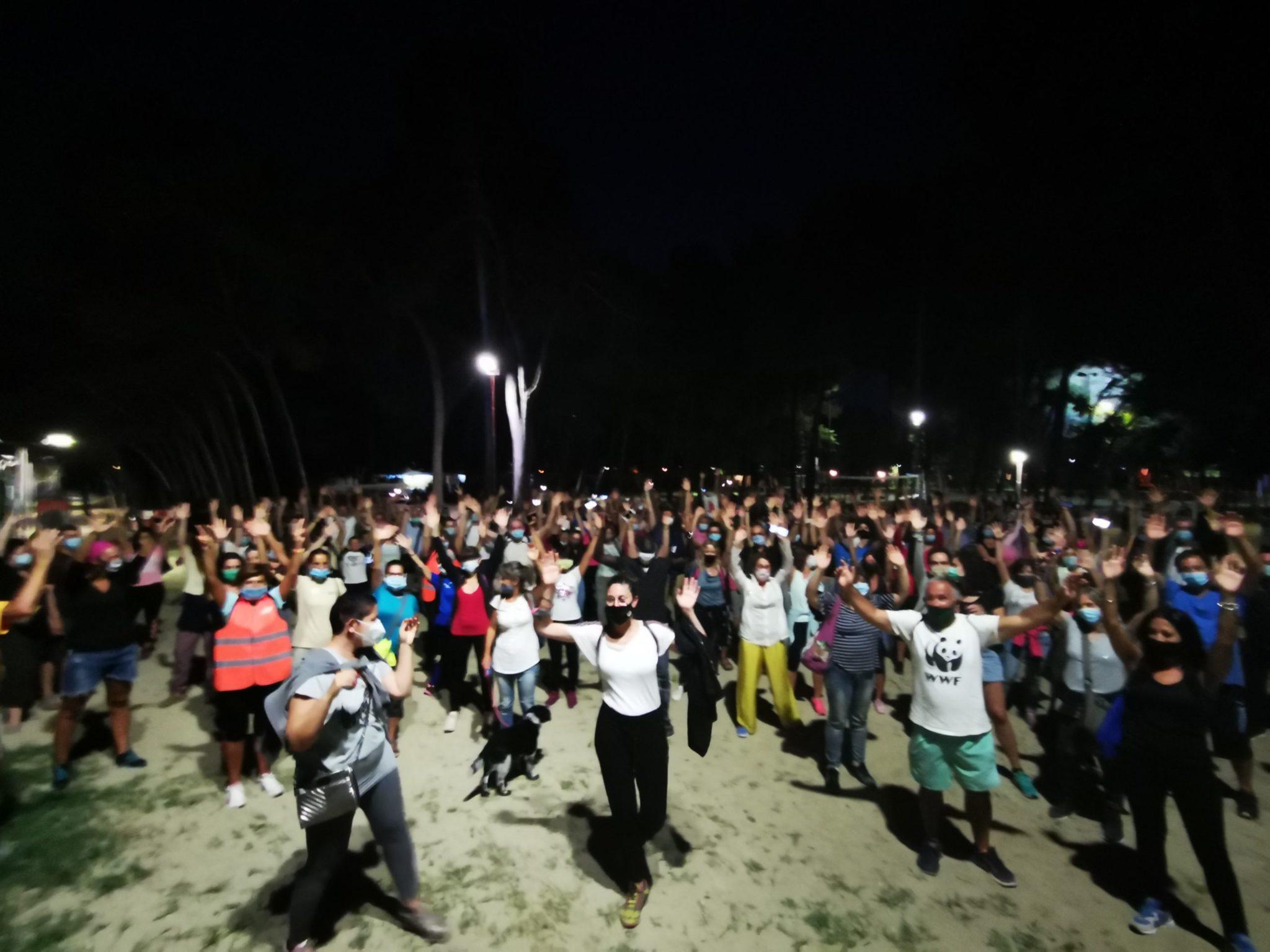 """FOTO   Borsacchio, successo per """"Le dune e la Luna"""", privo evento estivo nella Riserva. Prossimo appuntamento in bicicletta fino al Cerrano"""