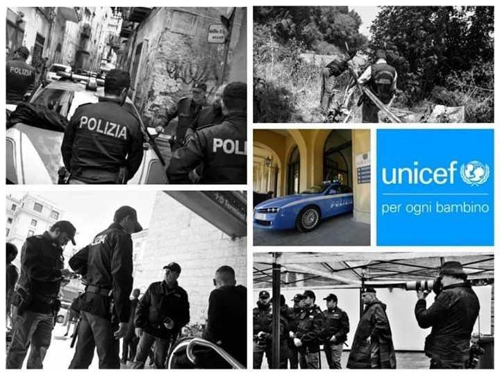 Calendario della Polizia di Stato 2021, con l'Unicef per mitigare