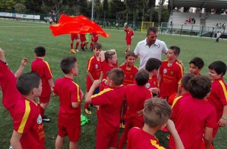 Il Centro Coni Vomano apre al calcio con i Piccoli Giallorossi