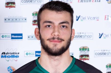Volley, il giovane centrale Michele Orazi si aggiunge al roster del Pineto
