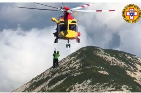 Salvato un ragazzo di 15 anni sul Monte Amaro dal Soccorso Alpino