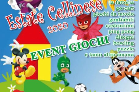 Cellino, serata dei bambini per l'estate cellinese 2020