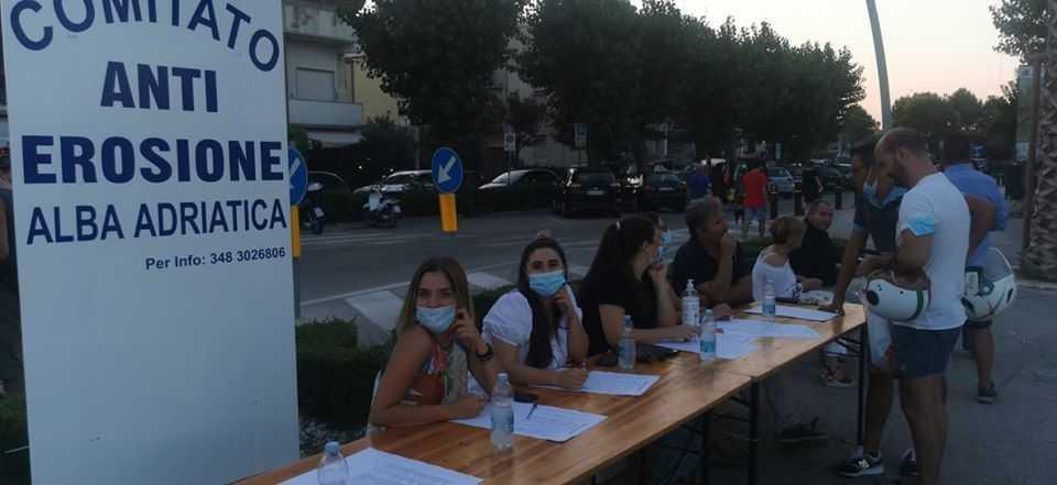 Alba Adriatica, lettera del Comitato anti-erosione alla cittadinanza