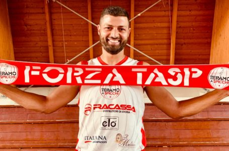 Basket B, ancora un teramano nel Teramo: Antonio Serroni giocherà con il Tasp