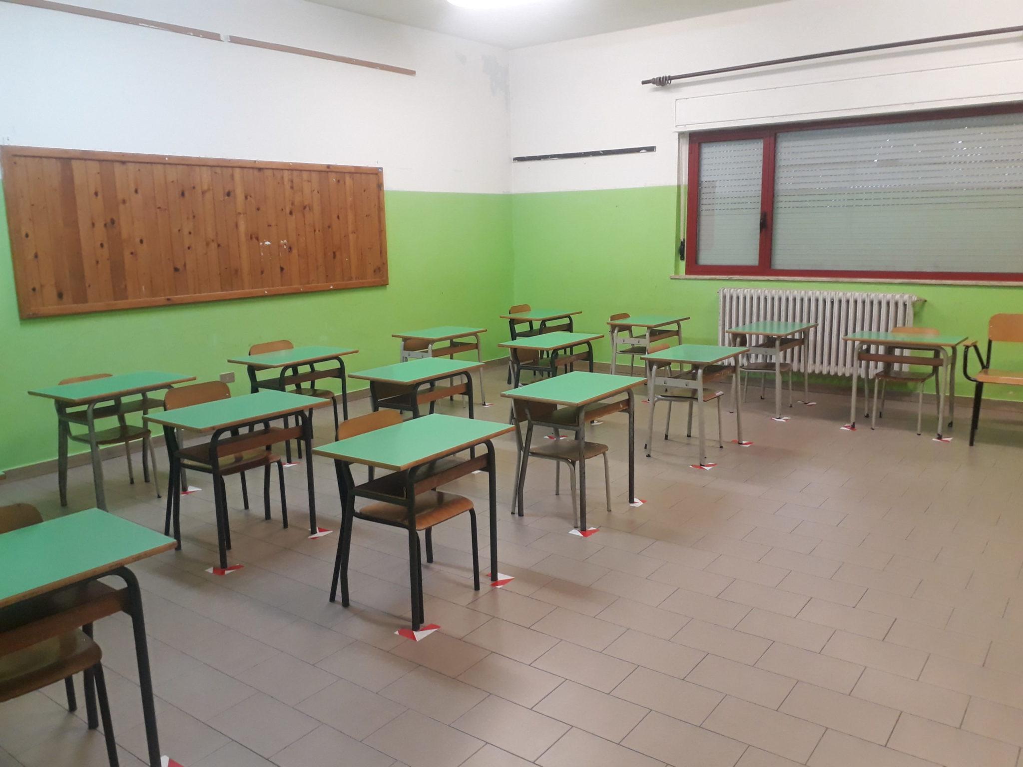 FOTO e VIDEO | Riapertura anno scolastico, anche Martinsicuro è pronta