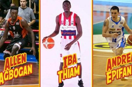 Basket B, il Giulia Basket ingaggia Thiam, Agbogan ed Epifani