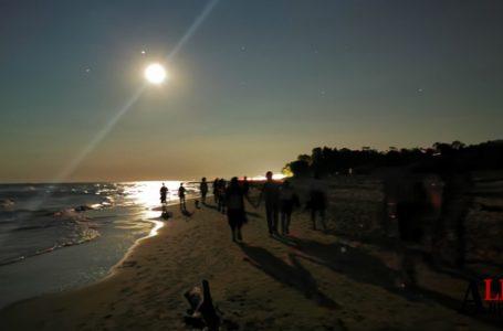 """""""La luna e le dune della riserva del Borsacchio"""", ultimo evento di luna piena del'estate 2020"""